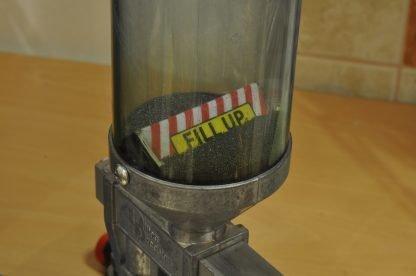 Armanov Precision Powder Baffle in uso