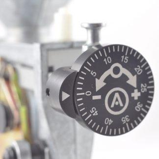 Armanov Regolatore Micrometrico Dosapolvere montato