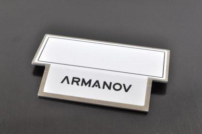 Armanov Case Bin Stopper fronte