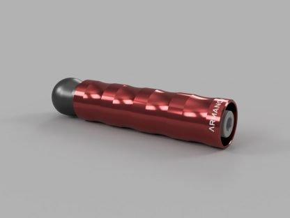 Armanov Maniglia Ergonomica Rotante rosso