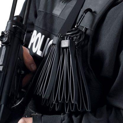Asp Manette Tri-fold Tactical