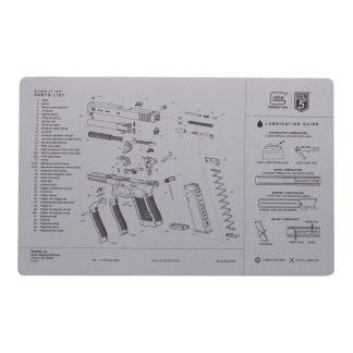 Glock Grey Gen5 Bench Mat